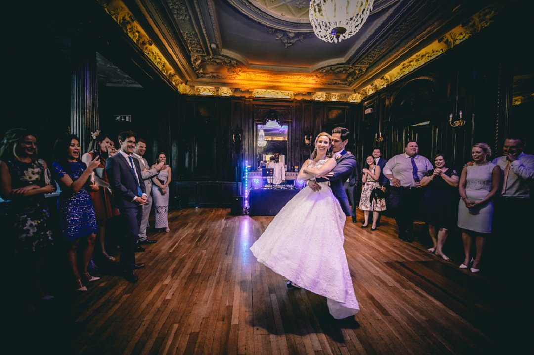 first dance at Dartmouth House London Wedding