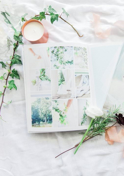 how to plan a sucessful styled shoot ebook mood-board page
