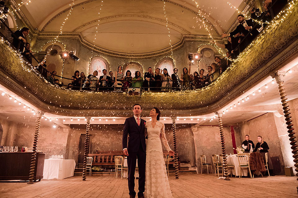 Top ten unique London wedding venues Always Andri creative wedding planner Wiltons Music Hall