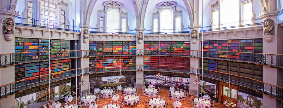 Top ten unique London wedding venues Always Andri creative wedding planner Queen Mary Universtiy Octagon library