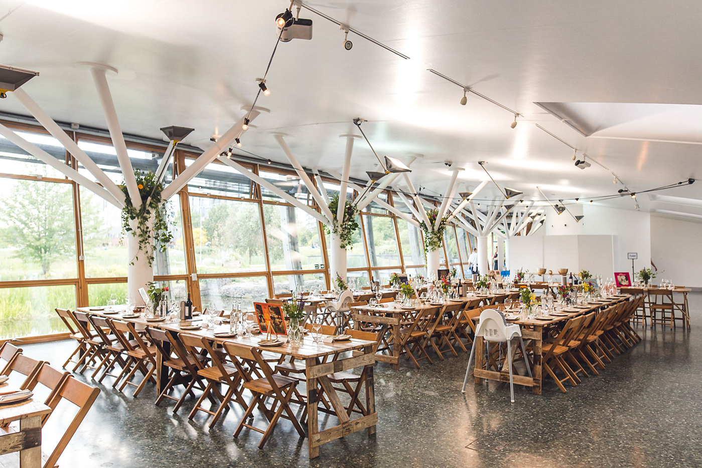 Mile End Art Pavillion London's top 10 wedding venues with great outdoor spaces