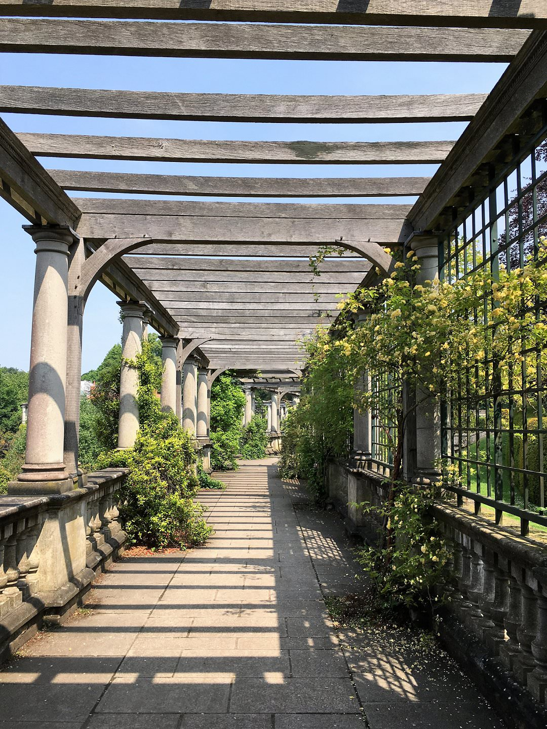 Hampstead Pergola London wedding venues with outside spaces