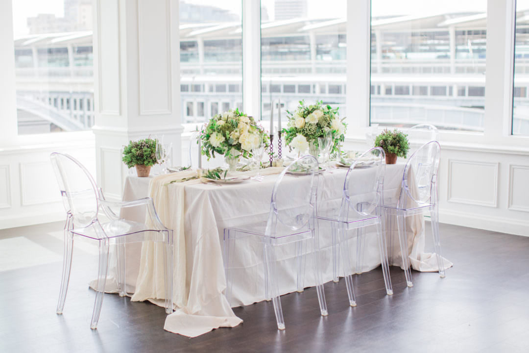 top ten London wedding vneues with views The River Rooms at the Mermaid