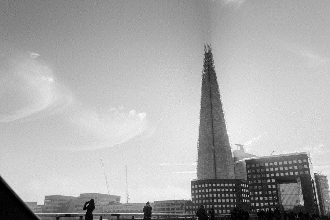 top ten London wedding vneues with views The Shard