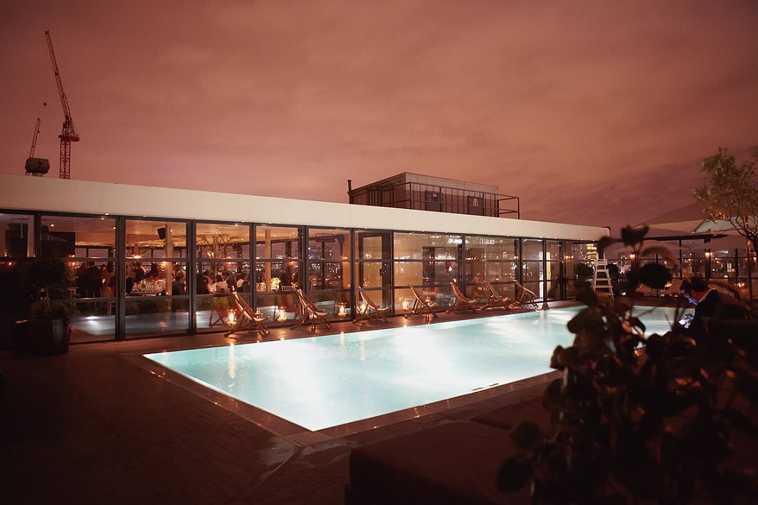 top ten London wedding vneues with views Shoreditch House