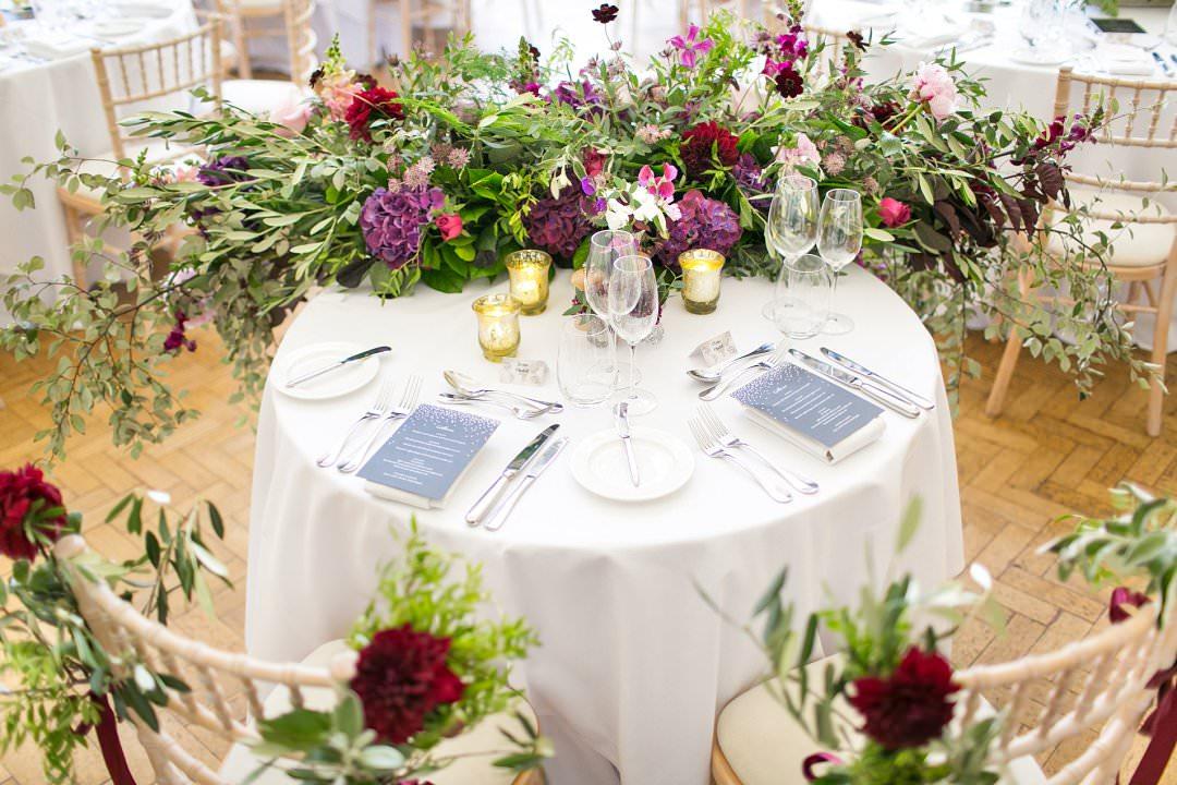 wedding sweetheart table Always Andri wedding planner designer Anneli Marinovich Photography