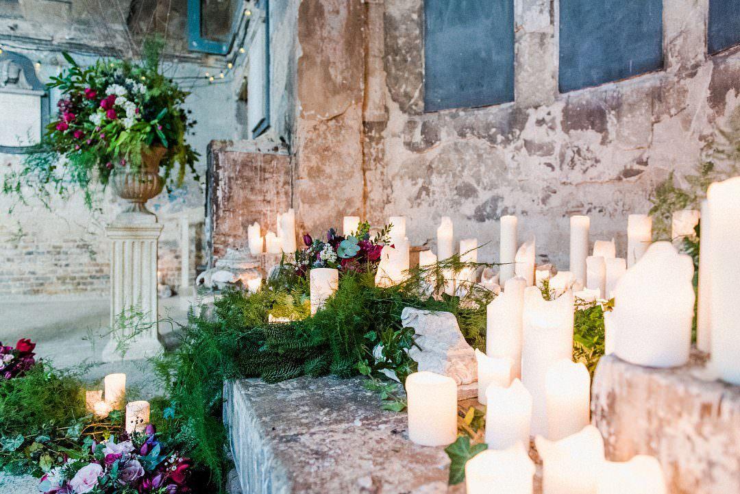 wedding ceremony candle lighting