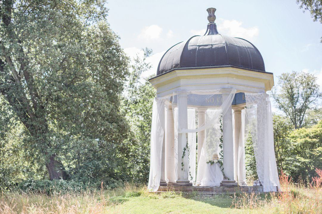 wedding venue outdoor temple