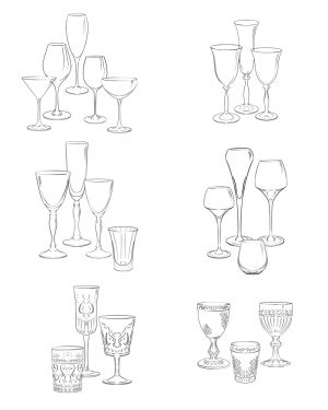 procreate brushes glassware stamps