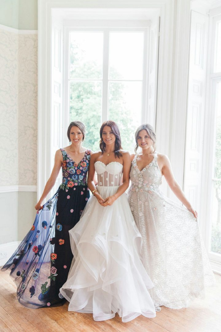 floral bridal party Wedding trends inspired by the floral trends of the fashion industry fabulous florals